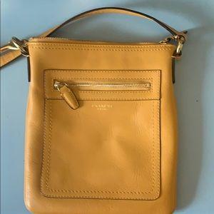 Coach Yellow Cross Body Bag